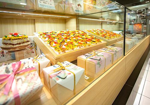 京都大丸店ショーケース